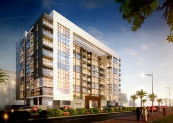 2B+G+10 Residential Building at Al Barsha South